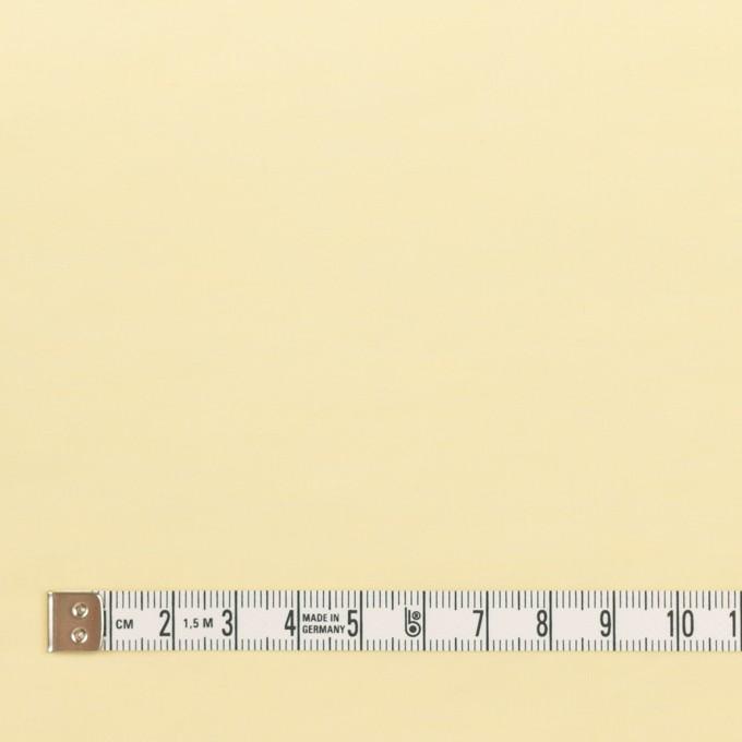 コットン&ポリアミド混×無地(クリームイエロー)×ローンワッシャー_イタリア製 イメージ4