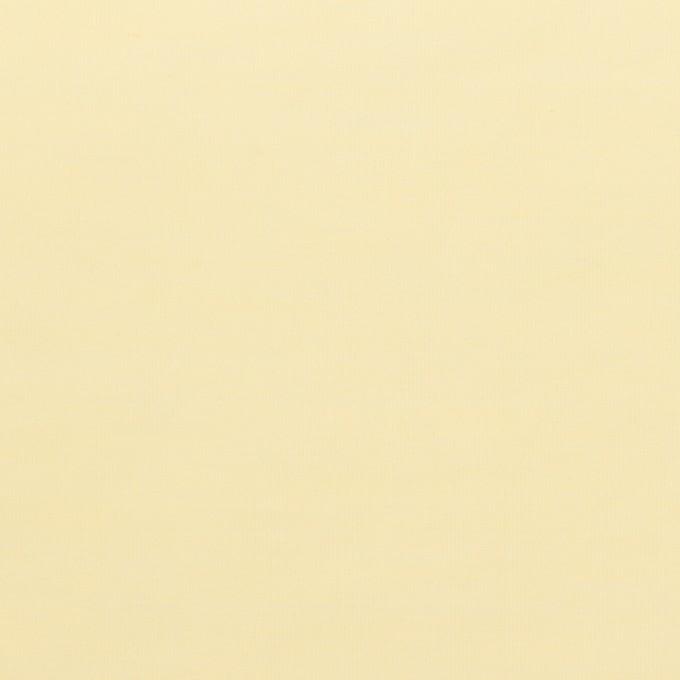 コットン&ポリアミド混×無地(クリームイエロー)×ローンワッシャー_イタリア製 イメージ1
