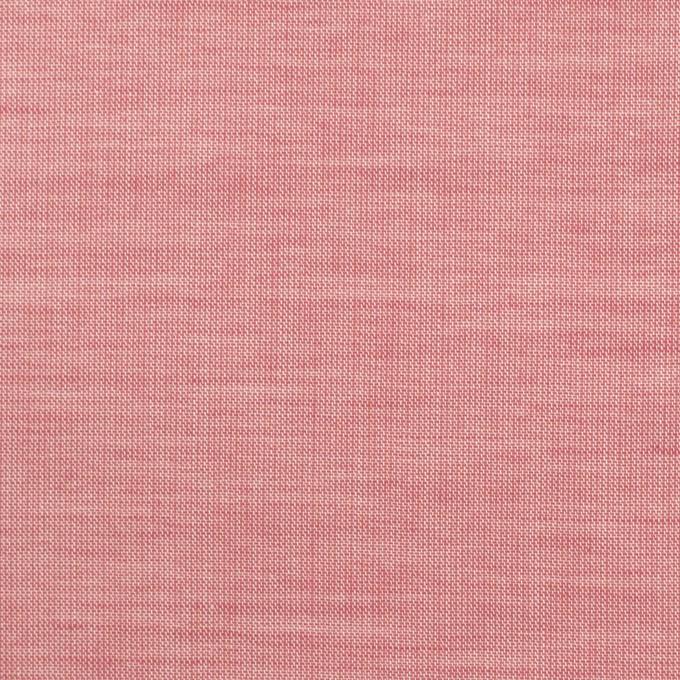 コットン×無地(ローズ)×シャンブレー_全3色_イタリア製 イメージ1