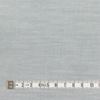 コットン×無地(ブルーグレー)×シャンブレー_全3色_イタリア製 サムネイル4