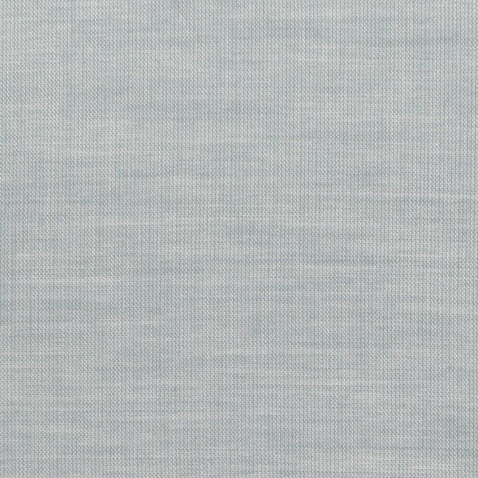 コットン×無地(ブルーグレー)×シャンブレー_全3色_イタリア製 イメージ1