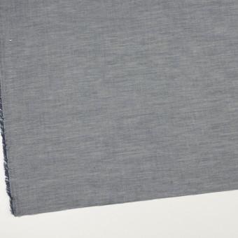 コットン×無地(アッシュネイビー)×シャンブレー_全3色_イタリア製 サムネイル2