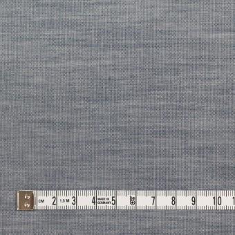 コットン×無地(アッシュネイビー)×シャンブレー_全3色_イタリア製 サムネイル4