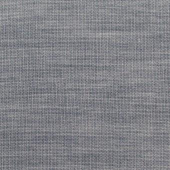 コットン×無地(アッシュネイビー)×シャンブレー_全3色_イタリア製