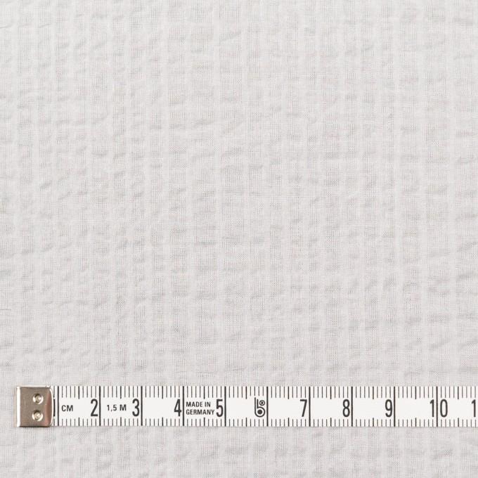 コットン×無地(オフホワイト)×ローンサッカー_全5色 イメージ4