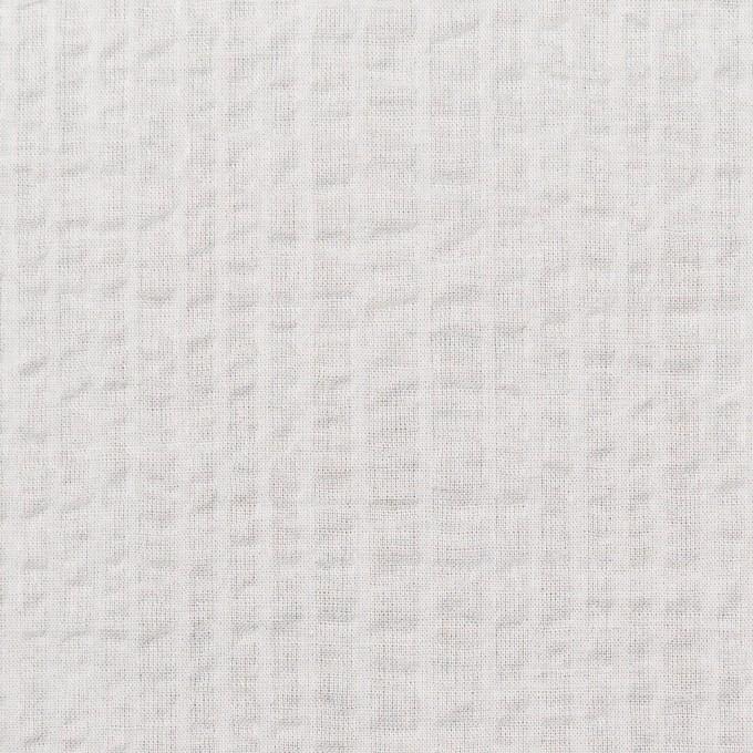 コットン×無地(オフホワイト)×ローンサッカー_全5色 イメージ1