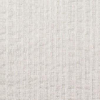 コットン×無地(アイボリー)×ローンサッカー_全5色