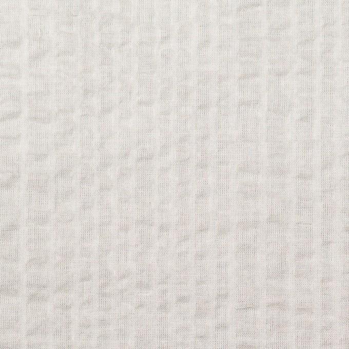 コットン×無地(アイボリー)×ローンサッカー_全5色 イメージ1