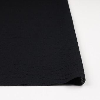 コットン×無地(ブラック)×ローンサッカー_全5色 サムネイル3