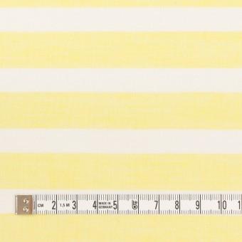 コットン&テンセル×ボーダー(レモン)×ボイル_全2色 サムネイル4