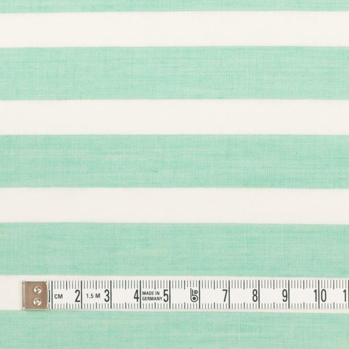 コットン&テンセル×ボーダー(ミント)×ボイル_全2色 イメージ4