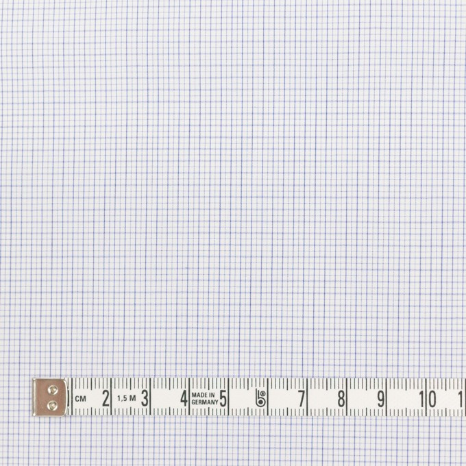 コットン×チェック(サックス)×ブロードワッシャー イメージ4