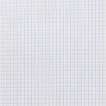 コットン×チェック(サックス)×ブロードワッシャー サムネイル1