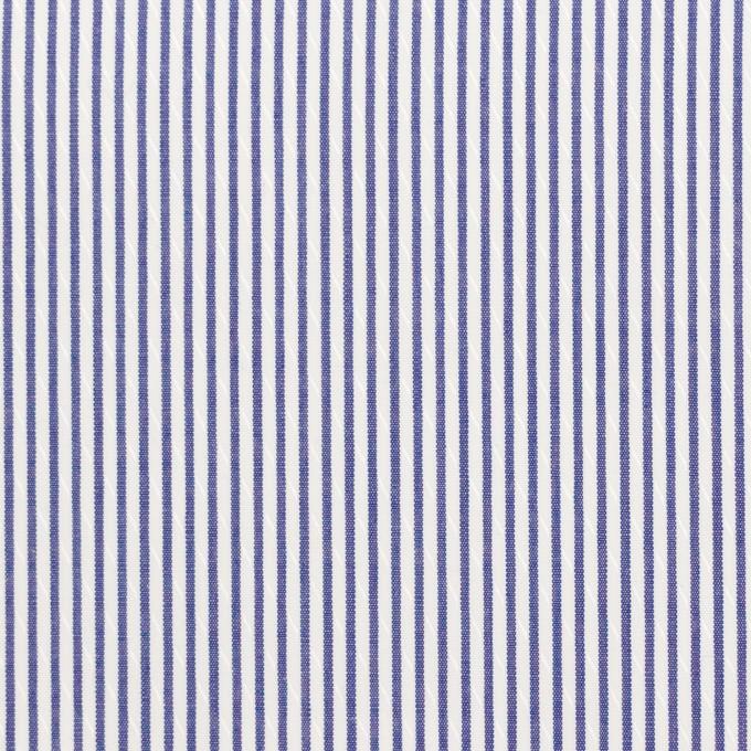 コットン×ストライプ(ネイビー)×ブロードジャガード イメージ1