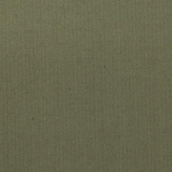 コットン&ポリエステル混×無地(スレートグリーン)×ヘリンボーン_イタリア製