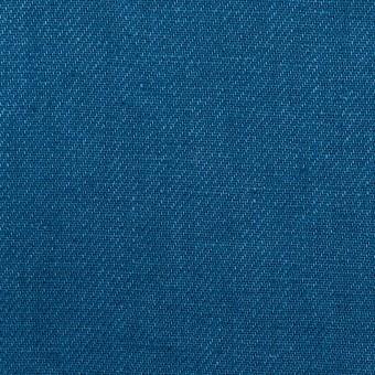 リネン×無地(アッシュブルー)×サージ_全6色 サムネイル1
