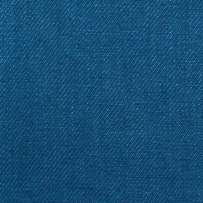リネン×無地(アッシュブルー)×サージ_全6色 イメージ1
