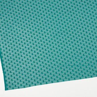 ポリエステル×ドット(クロムグリーン)×シフォンジョーゼット・カットジャガード_全3色 サムネイル2