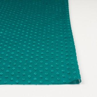 ポリエステル×ドット(クロムグリーン)×シフォンジョーゼット・カットジャガード_全3色 サムネイル3