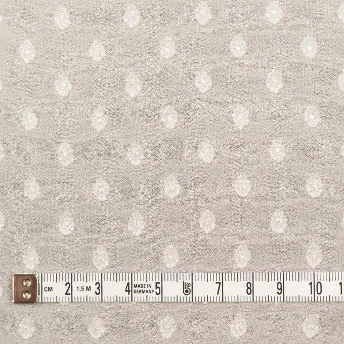 ポリエステル×ドット(キナリ)×ジョーゼット・カットジャガード_全3色 イメージ4