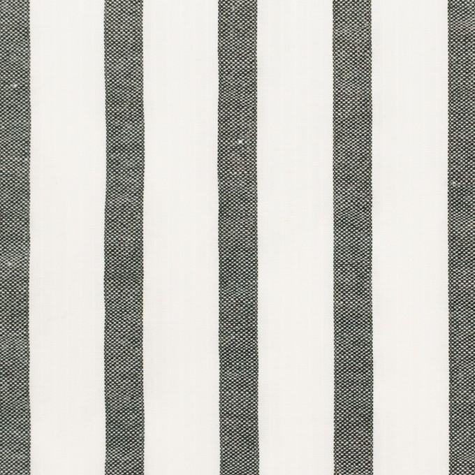コットン×ストライプ(ブラック)×サッカー_全2色 イメージ1