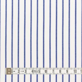 コットン×ストライプ(ブルー)×ポプリン_全2色 サムネイル4