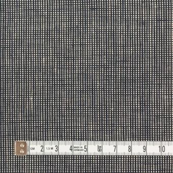 リネン×無地(ブラック)×斜子織_全2色 サムネイル4