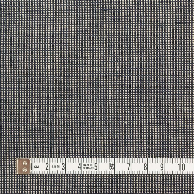 リネン×無地(ブラック)×斜子織_全2色 イメージ4