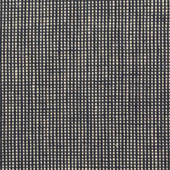 リネン×無地(ブラック)×斜子織_全2色 サムネイル1