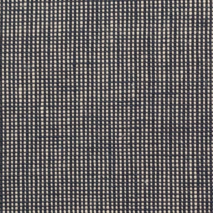 リネン×無地(ブラック)×斜子織_全2色 イメージ1