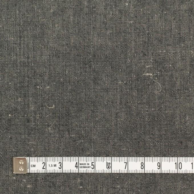 リネン&コットン×無地(チャコール)×キャンバス イメージ4