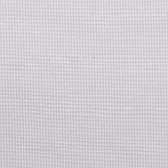 コットン&ポリエステル×無地(ライトグレー)×かわり織_全3色_イタリア製