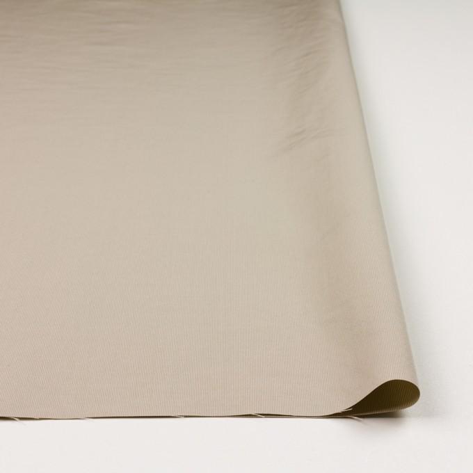 コットン&ポリエステル×無地(カーキベージュ)×かわり織_全3色_イタリア製 イメージ3