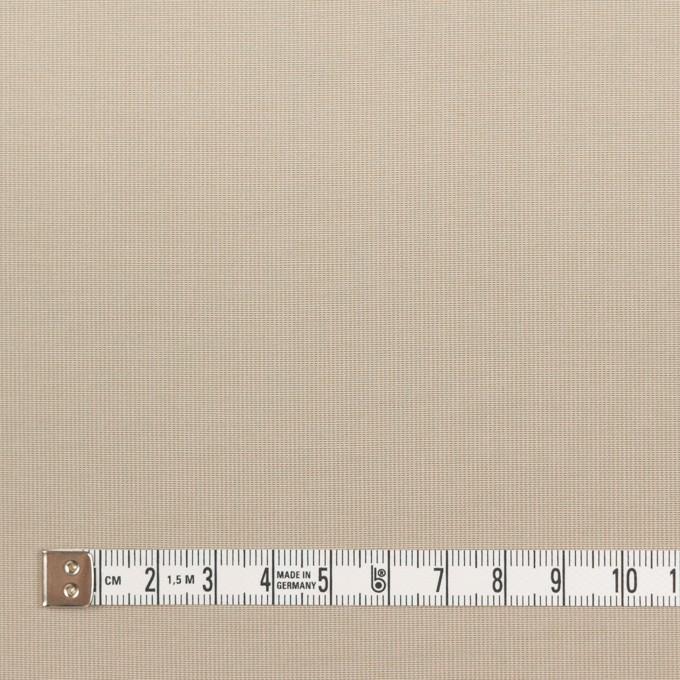 コットン&ポリエステル×無地(カーキベージュ)×かわり織_全3色_イタリア製 イメージ4