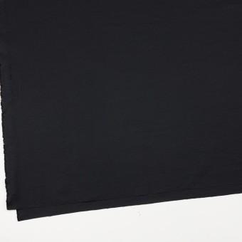 コットン&ポリエステル×無地(ブラック)×かわり織_全3色_イタリア製 サムネイル2