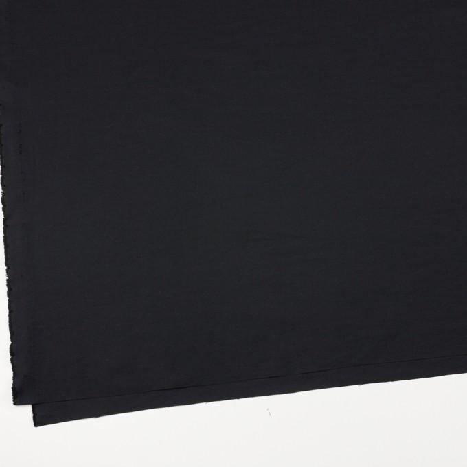 コットン&ポリエステル×無地(ブラック)×かわり織_全3色_イタリア製 イメージ2