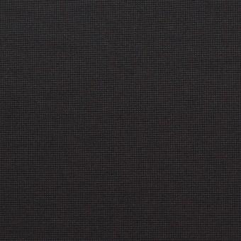 コットン&ポリエステル×無地(ブラック)×かわり織_全3色_イタリア製