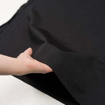 コットン&ポリエステル×無地(ブラック)×かわり織_全3色_イタリア製 サムネイル5