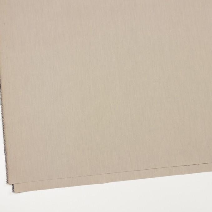 コットン&ポリアミド×無地(カーキベージュ)×シャンブレー_全2色_イタリア製 イメージ2