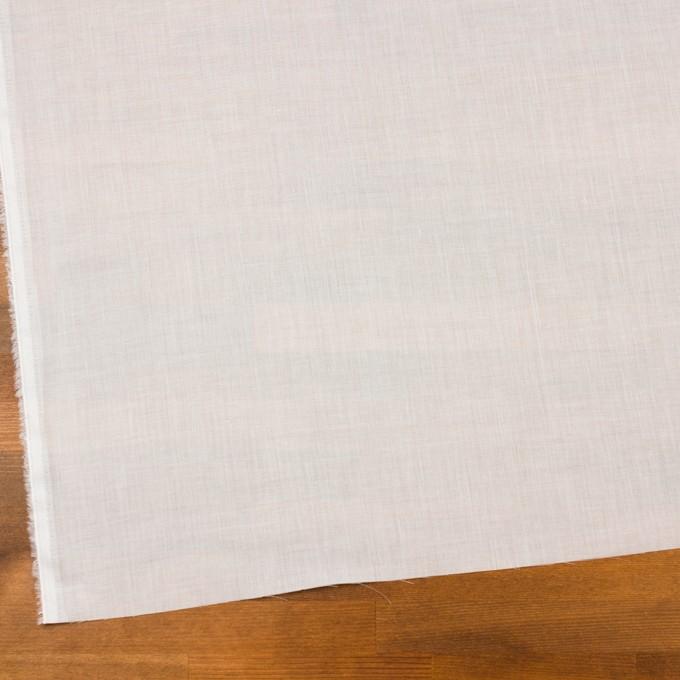 コットン×無地(ホワイト)×ボイル_全4色 イメージ2