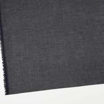 コットン×無地(ブラック)×ボイル_全4色 サムネイル2