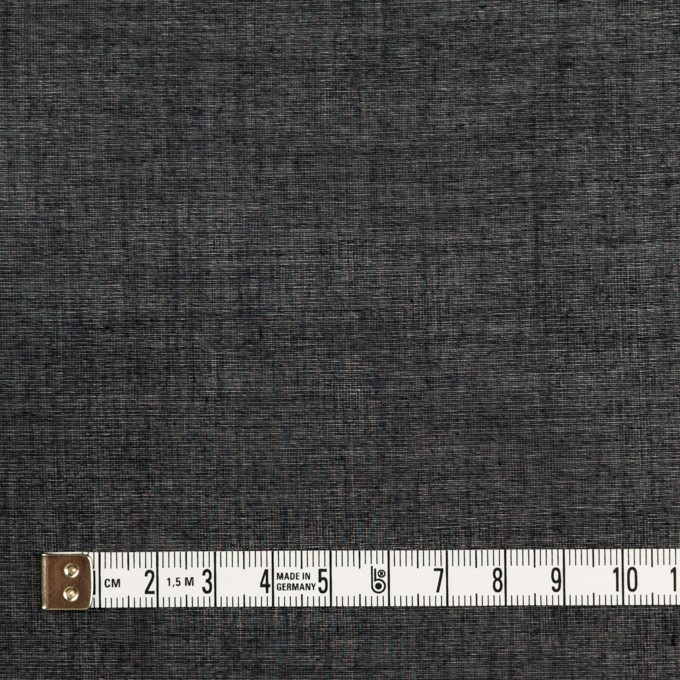 コットン×無地(ブラック)×ボイル_全4色 イメージ4