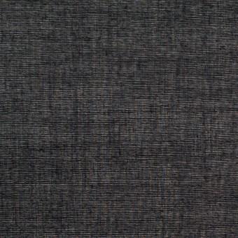 コットン×無地(ブラック)×ボイル_全4色