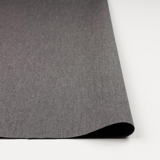 コットン×無地(グレー)×厚オックスフォード_イタリア製 イメージ3