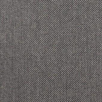 コットン×無地(グレー)×厚オックスフォード_イタリア製