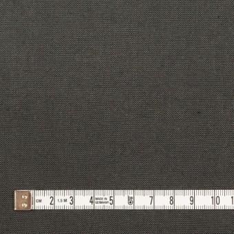 コットン&リネン×無地(チャコールグレー)×厚オックスフォード・ワッシャー_イタリア製 サムネイル4