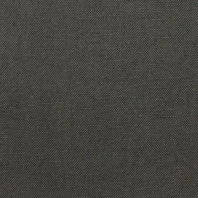 コットン&リネン×無地(チャコールグレー)×厚オックスフォード・ワッシャー_イタリア製 イメージ1
