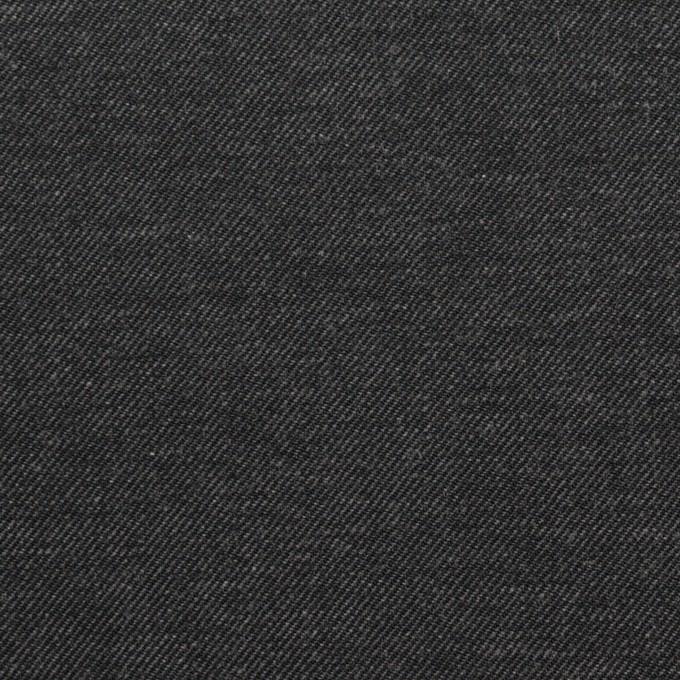 コットン×無地(チャコールグレー)×デニム(6.5oz) イメージ1