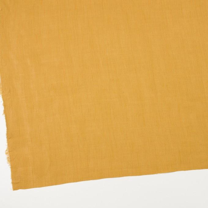 リネン&コットン×無地(マスタード)×かわり織ワッシャー_全4色 イメージ2
