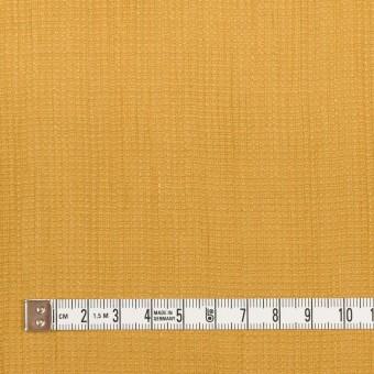 リネン&コットン×無地(マスタード)×かわり織ワッシャー_全4色 サムネイル4
